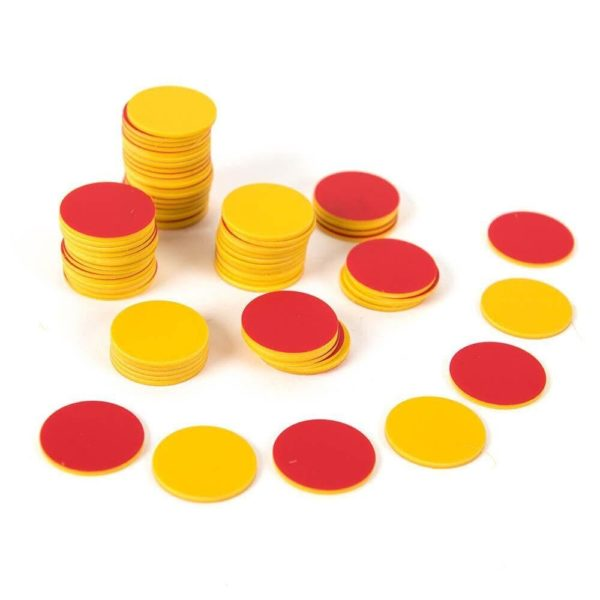 Counter 2 Sided Red/Yellow Counting   First Class Office Online Store 2