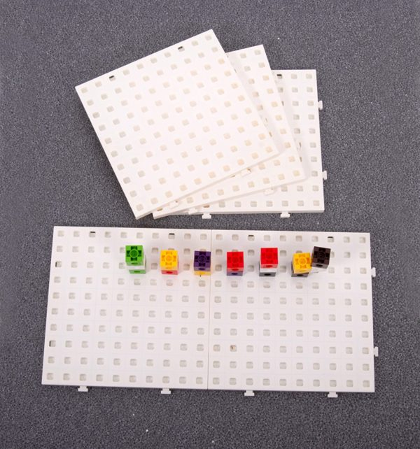 Multi Base Board for Linking Cubes Counting | First Class Office Online Store 2