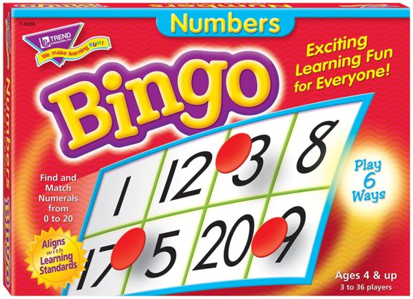 Bingo Game Numbers Counting | First Class Office Online Store 2