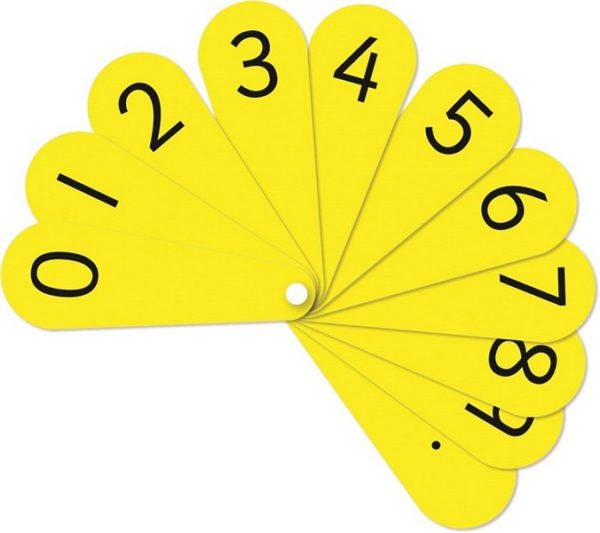 Number Fan Student Set Counting | First Class Office Online Store 2
