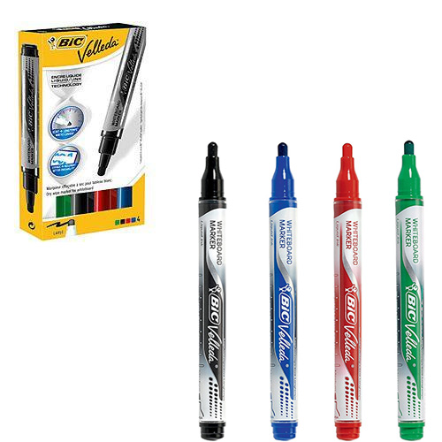 Assorted Bullet Bic Whiteboard Markers   First Class Office Online Store 2