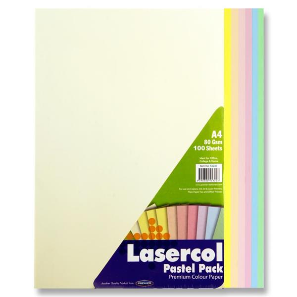 Pastel Coloured Paper Assorted A4 (100pk) Coloured Paper A4 | First Class Office Online Store 2