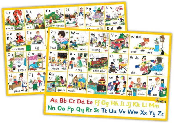 Jolly Phonics Letter Sound Wall Charts Phonics | First Class Office Online Store 2
