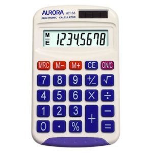 Aurora Calculators HC133 Calculators | First Class Office Online Store