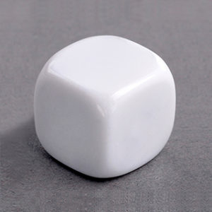 Blank Dice Dice | First Class Office Online Store