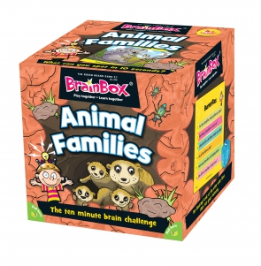 Brain Box Game Animal Families Science | First Class Office Online Store