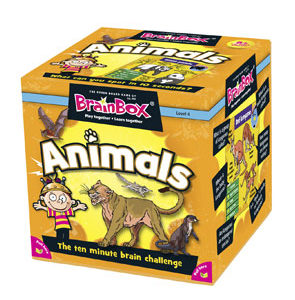 Brain Box Game Animals FrontPage | First Class Office Online Store
