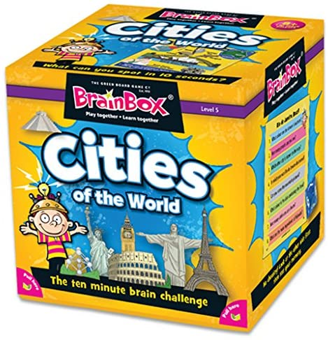 Brain Box Game Cities 8+ FrontPage | First Class Office Online Store 2