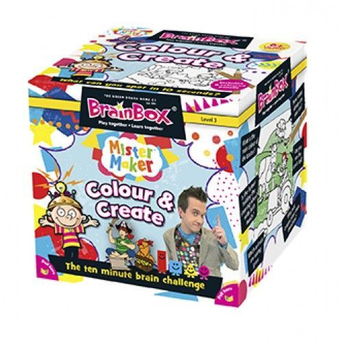 Brain Box Game Colour & Create Colours & Shapes   First Class Office Online Store 2