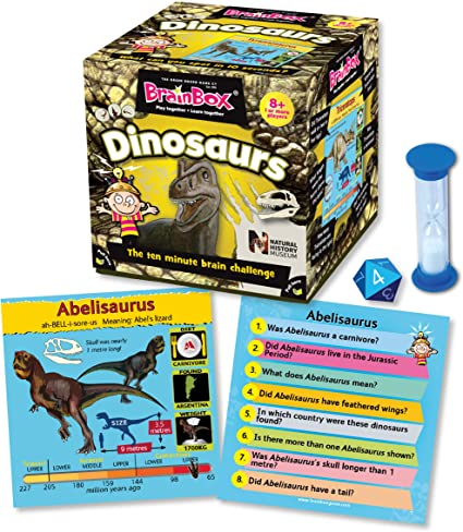 Brain Box Game Dinosaurs Science | First Class Office Online Store 2