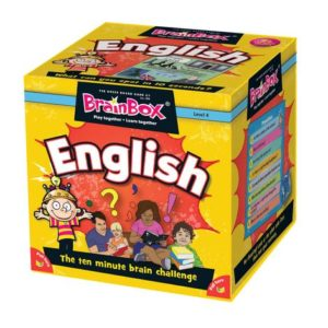 Brain Box Game English English Literacy Games/Language Cards | First Class Office Online Store