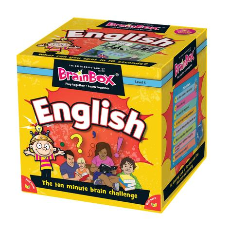 Brain Box Game English English Literacy Games/Language Cards   First Class Office Online Store 2