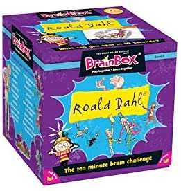 Brain Box Game Roald Dahl 8+ English Literacy Games/Language Cards | First Class Office Online Store