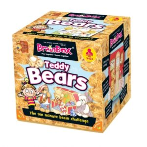 Brain Box Game Teddy Bears 3+ English Literacy Games/Language Cards | First Class Office Online Store