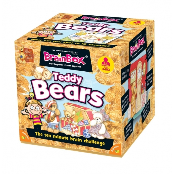 Brain Box Game Teddy Bears 3+ English Literacy Games/Language Cards | First Class Office Online Store 2