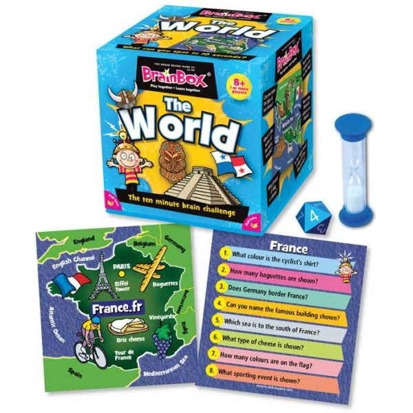 Brain Box Game The World 8+ FrontPage | First Class Office Online Store 2