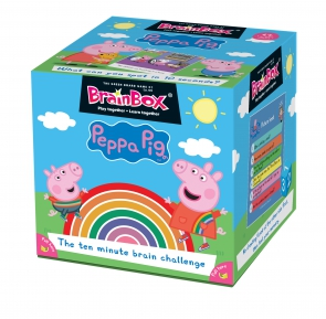 Brain Box Peppa English Literacy Games/Language Cards | First Class Office Online Store