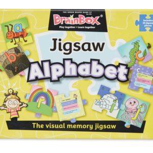 Brainbox Jigsaw Alphabet Alphabet | First Class Office Online Store