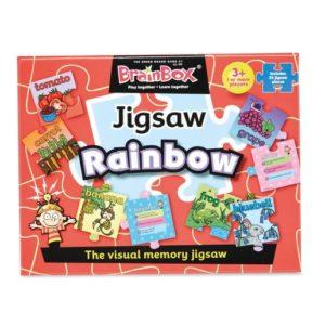 Brainbox Jigsaw Rainbow Colours & Shapes | First Class Office Online Store