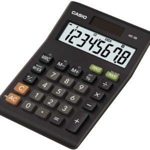 Casio Desktop Calculator MS8B Calculators | First Class Office Online Store