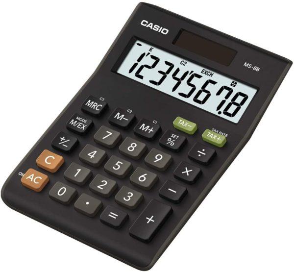 Casio Desktop Calculator MS8B Calculators   First Class Office Online Store 2