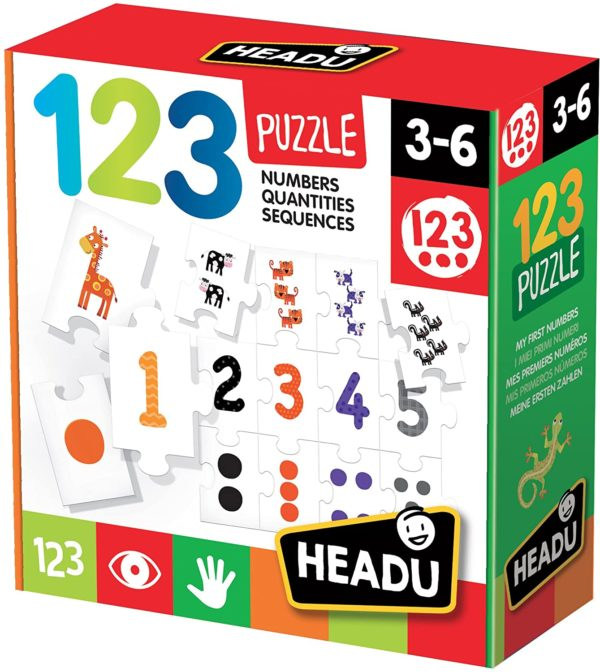 Headu 123 Puzzle 3-6 yrs Puzzles | First Class Office Online Store 2