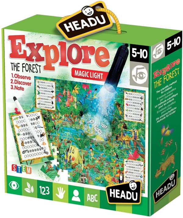 Headu Exlore The Forest 5-10 yrs Puzzles | First Class Office Online Store 2