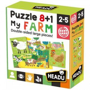 Headu Farm 8+1 2-5 yrs Puzzles | First Class Office Online Store