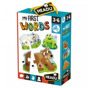 Headu My First Words 3-6 yrs Puzzles | First Class Office Online Store
