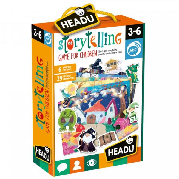 Headu Storytelling Game 3-6 yrs Games | First Class Office Online Store 2