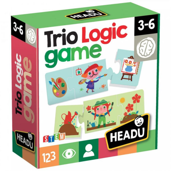 Headu Trio Logic 3-6 yrs Puzzles   First Class Office Online Store 2