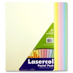 Coloured Paper A4 Pastel Assorted (250pk) Coloured Paper A4 | First Class Office Online Store