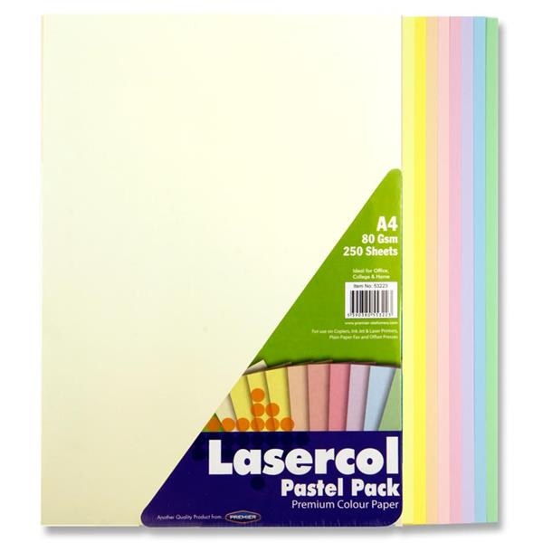 Coloured Paper A4 Pastel Assorted (250pk) Coloured Paper A4 | First Class Office Online Store 2