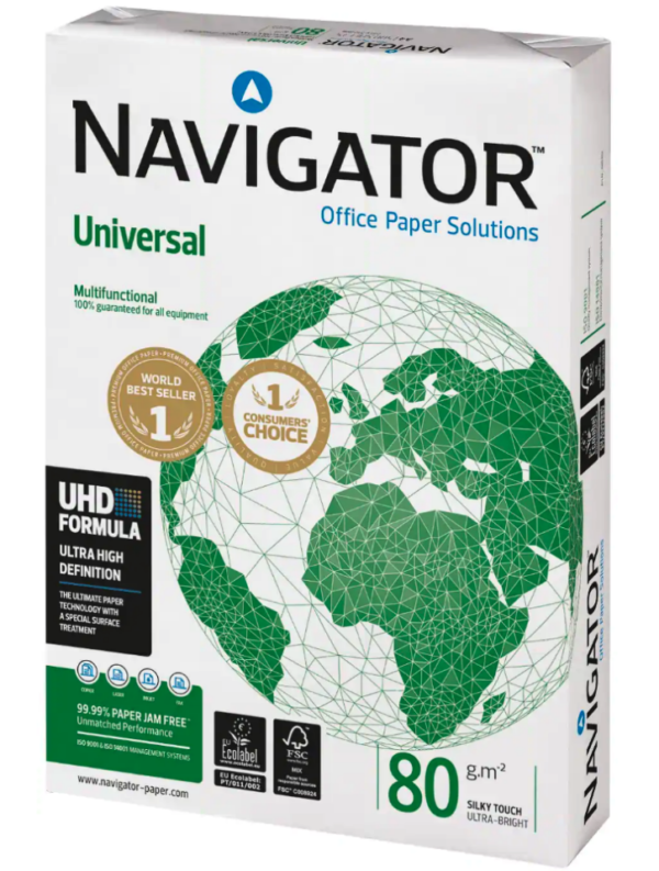 White Card Navigator A4 Card Reams   First Class Office Online Store 2