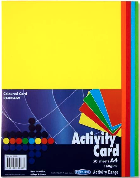Assorted Bold Premier A4 Card Reams | First Class Office Online Store 2
