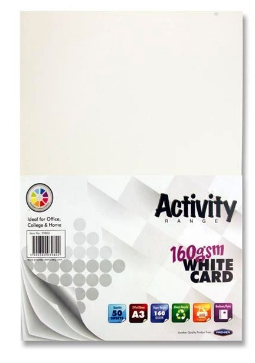 White Card Premier A3 Card   First Class Office Online Store 2
