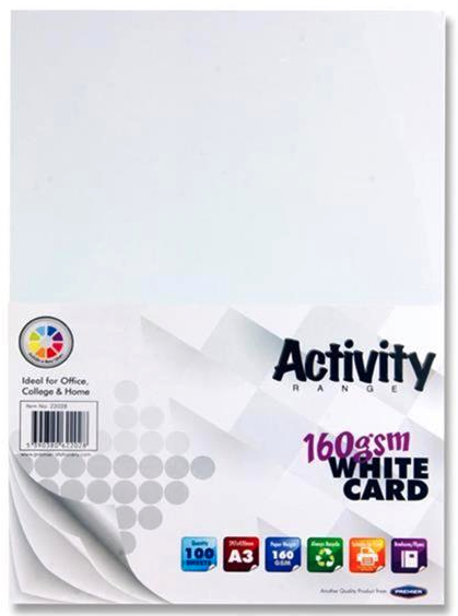 White Card Premier A3 Card | First Class Office Online Store 2