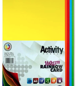 Assorted Coloured Card Premier A3 Card | First Class Office Online Store