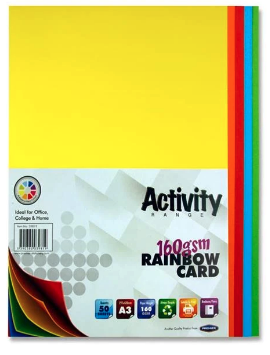 Assorted Coloured Card Premier A3 Card | First Class Office Online Store 2
