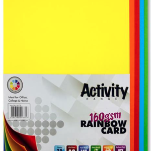 Assorted Coloured Card Premier A2 Card | First Class Office Online Store