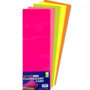 12×4 Fluorescent Flash Card Flash Card | First Class Office Online Store 2