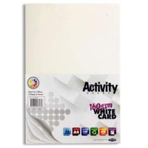 White Card Premier A4 Card Small Packs | First Class Office Online Store