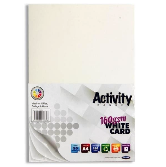 White Card Premier A4 Card Small Packs | First Class Office Online Store 2
