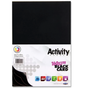 Black Card Premier A4 Card Small Packs | First Class Office Online Store