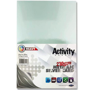 Silver Card CI A4 Card Small Packs | First Class Office Online Store