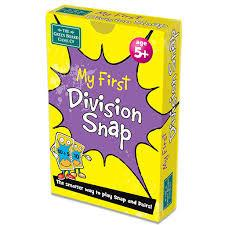 Snap Cards My First Division Snap Multiplication & Division | First Class Office Online Store
