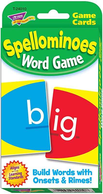 Spellominoes Word Card Game English Literacy Games/Language Cards | First Class Office Online Store 2