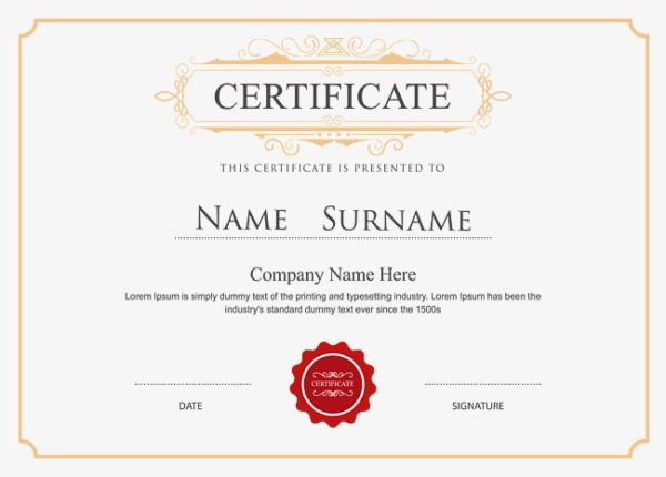 Great Work (30) Certificates | First Class Office Online Store 2