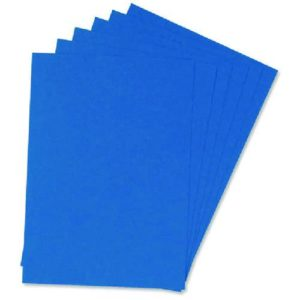 Blue Covers (100) KF00500 Binding Covers | First Class Office Online Store