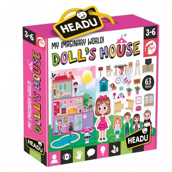 Headu The Doll's House 3-6 yrs Puzzles | First Class Office Online Store 2